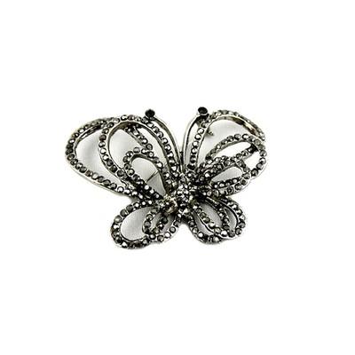 Black Butterflie Brooch