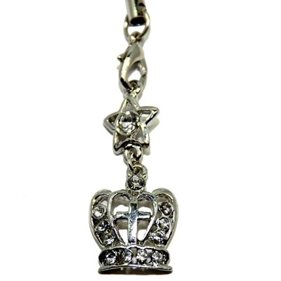 Crown Charm for Bracelet/Necklace/Cellphone