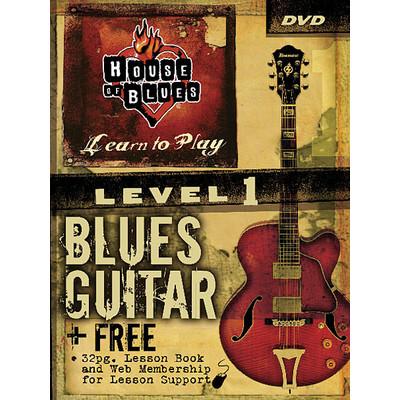 House of Blues - Beginner Blues Guitar, Level 1 DVD