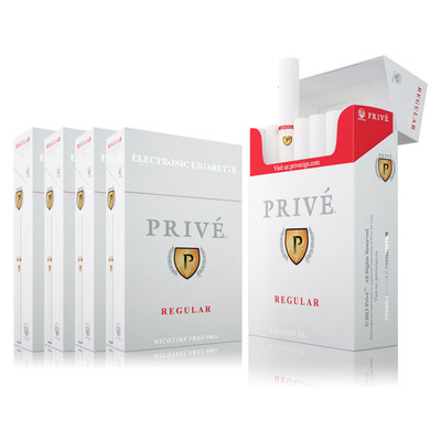 Half-Carton of Regular (Tobacco) Flavour - 5 Packs (six e-cigs per pack)