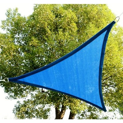 12 ft. Triangular Sail Shade - Blue