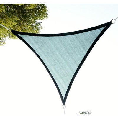 10 ft. Triangular Sail Shade - Forest Green