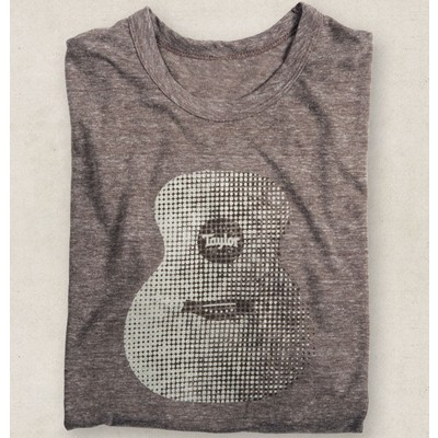 Taylor Eco Heather Tri-Blend T-Shirt - Small - Taylor Guitars - Taylorware, Home and Gifts - 14604