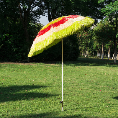 Tiki Beach Umbrella - Multicolour
