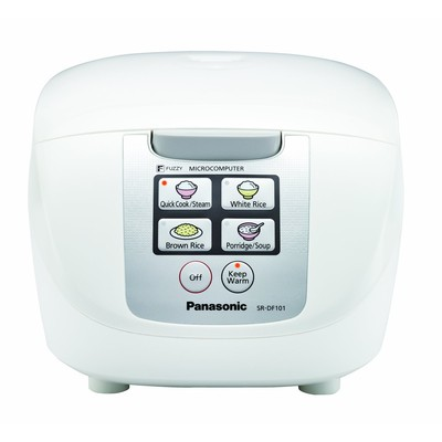 Panasonic-Refurbished SRDF101 Rice Cooker-Manufacturer Recertified with 90 days Warranty
