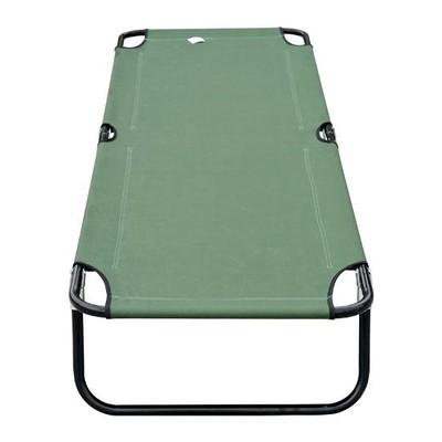 Camping Cot - Green