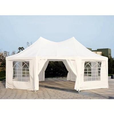 22' x 16.5' Octagonal Wedding Tent