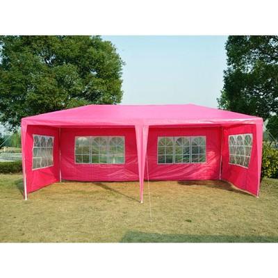 10' x 20' Gazebo Party Tent - Pink