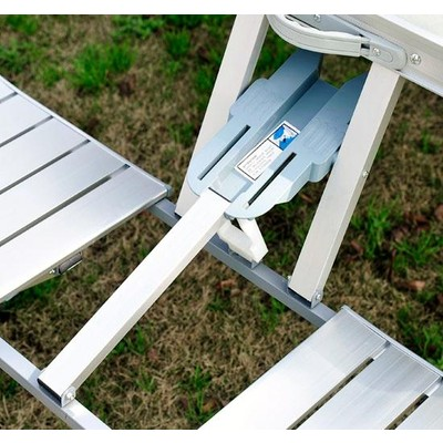 junior aluminum portable picnic table. Black Bedroom Furniture Sets. Home Design Ideas
