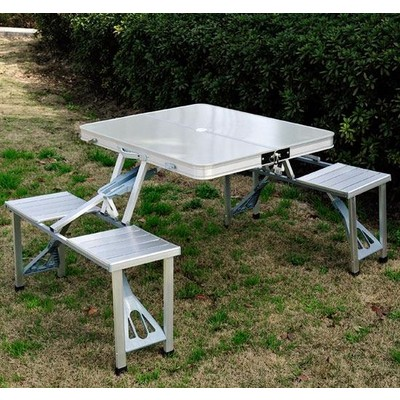 Junior Aluminum Portable Picnic Table