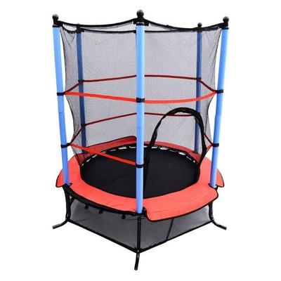Children's Trampoline with Enclosure Net
