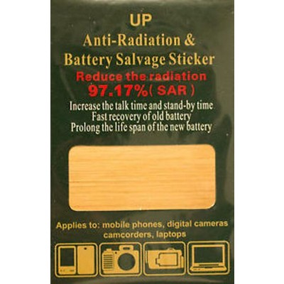 2 X Energy Saving and Anti-Radiation Decal for Wireless Device