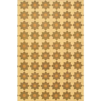 "eCarpetGallery Flat-weave Lahor Finest Beige, Cream Sumak - 5'6"" x 8'9"""