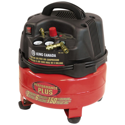 Performance Plus 8491 2-Horsepower Oil-Free Air Compressor