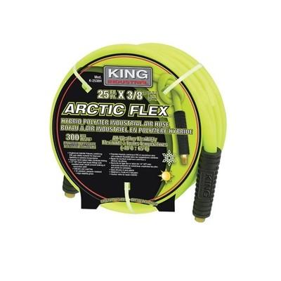 King Industrial ARCTIC FLEX 3/8-inch x 50-ft Hybrid Industrial Air Hose