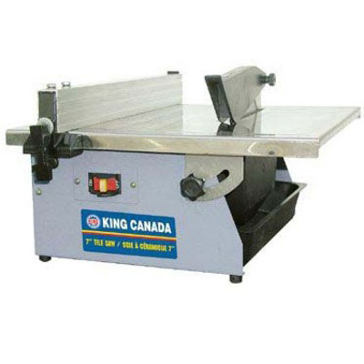 King Canada 7-inch Portable Tile Saw