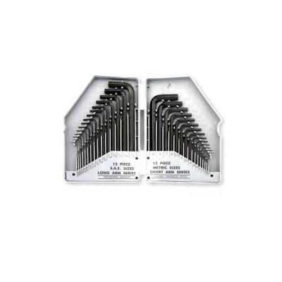 Neiko 30pc Combination Hex Keys