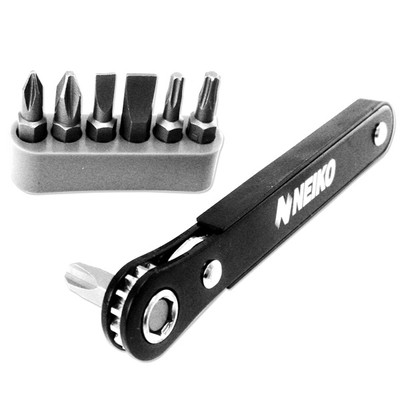 Neiko Mini Ratcheting Screwdriver and Bit Set
