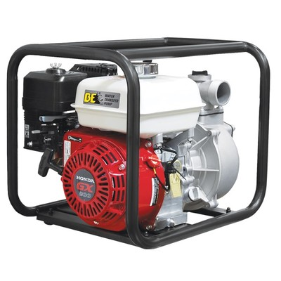 BE WP-2065HL 2-inch 158-GPM Water Transfer Pump with Honda GX Engine