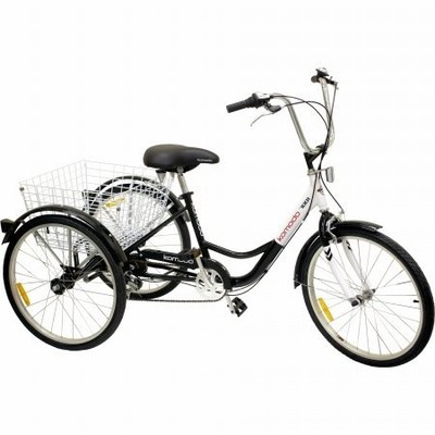 24-Inch 6-Speed Adult Tricycle with SHIMANO Shifter