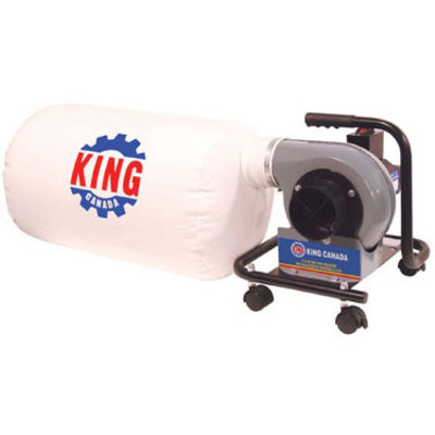 King Canada 3/4HP 590 CFM Mini Dust Collector