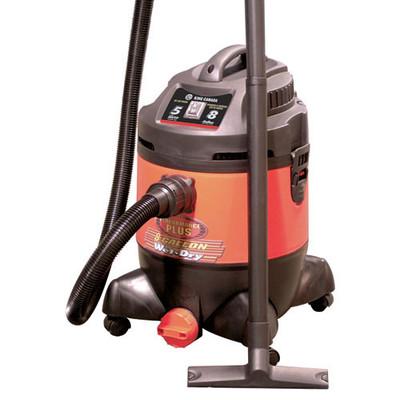 Performance Plus 5HP 8 Gallon Wet-Dry Vacuum