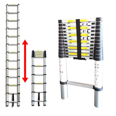 Tooluxe 12-ft Telescopic Ladder