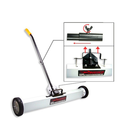 Neiko 36-inch Heavy Duty Magnetic Sweeper