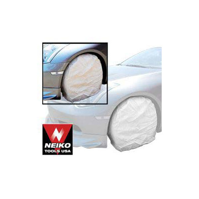 Neiko 4-Piece 25-inch Canvas Wheel Protector