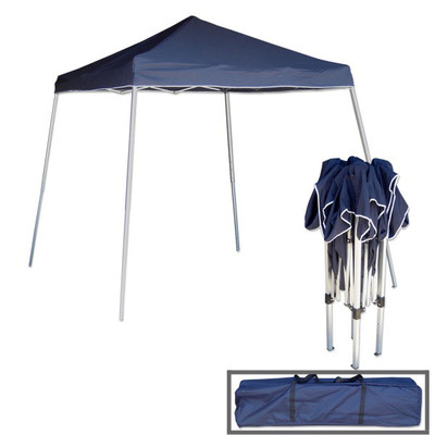 Tooluxe 10-ft x 10-ft Blue Pop-up Canopy