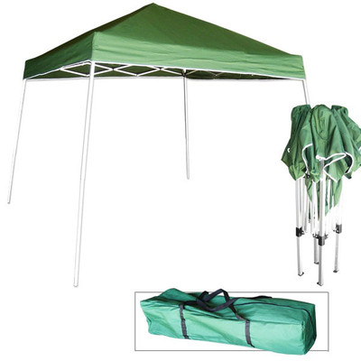 Tooluxe 10-ft x 10-ft Green Pop-up Canopy
