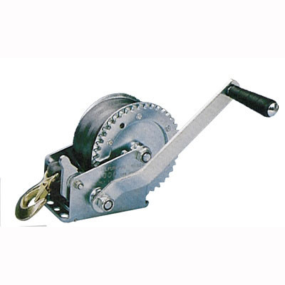 800lb Hand Winch with Strap
