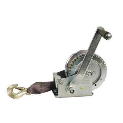 2500lb Hand Winch with Strap