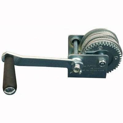 1200-lb Hand Winch with Cable