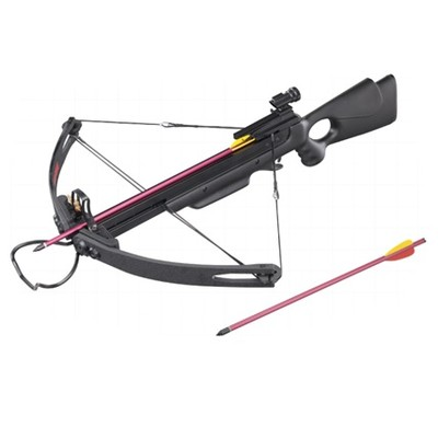 150 lb Draw Weight 248 FPS Black Compound Crossbow