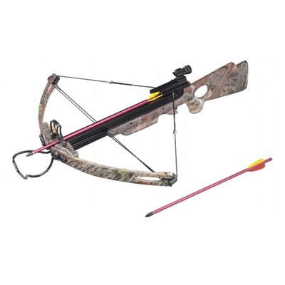 150 lb Draw Weight 248 FPS Camoflauge Compound Crossbow