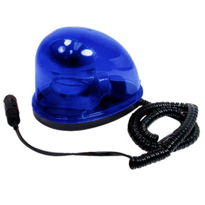 120 FPM Teardrop Style Blue Beacon Light