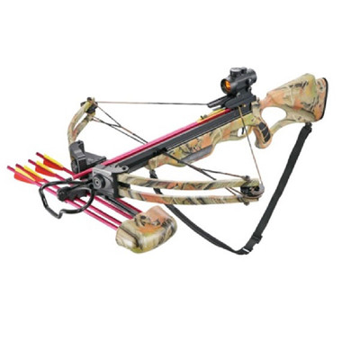 175 lb Draw Weight 285 FPS Camo Compound Crossbow