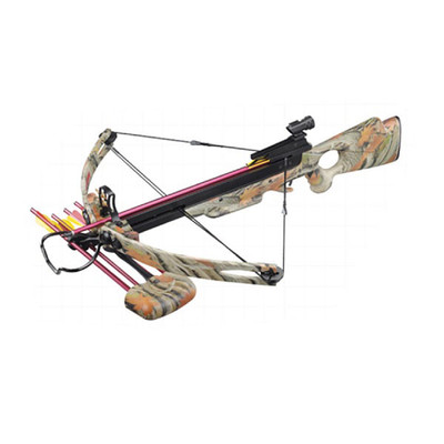 150 lb Draw Weight 248 FPS Camo Compound Crossbow