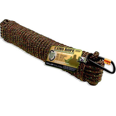 LeHigh 75-ft x 3/8-inch Camo Rope with Latch