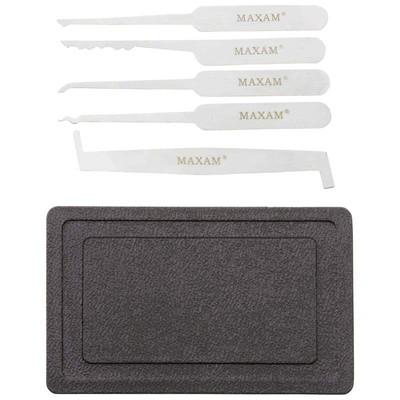 Maxam 5-Piece Lock Pick Set with Case
