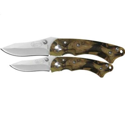 Northwest Trail 2-Piece Camo Knife Gift Set