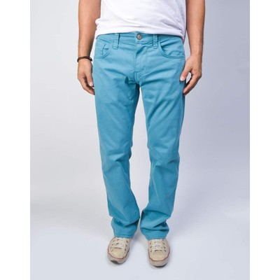Mavi Jeans ZACH MIDRISE STRAIGHT TWILL IN ADRIATIC BLUE