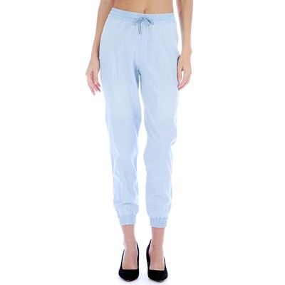 Buffalo Jeans CHAMBRAY ELASTIC CUFF PANT