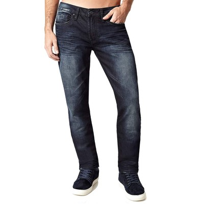 Buffalo Jeans ASH MIDRISE SLIM IN LIGHTLY CONTRASTED RINSE
