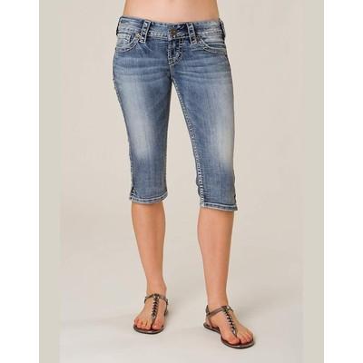 Silver Jeans Mckenzie Capri