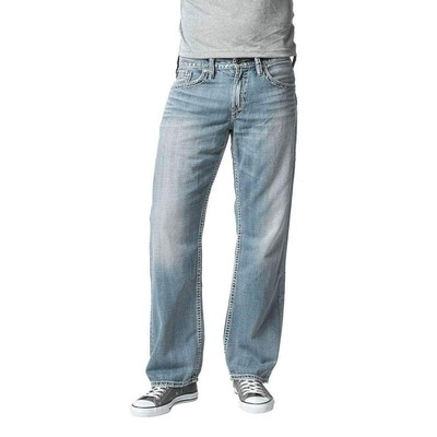Silver Jeans GORDIE MIDRISE LOOSE FIT LIGHT WASH