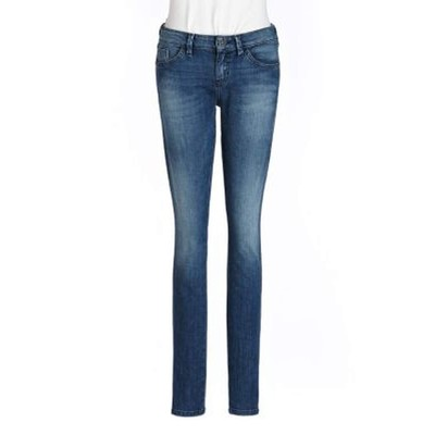 Guess BRITTNEY MIDRISE SKINNY IN CANOPY BLUE WASH