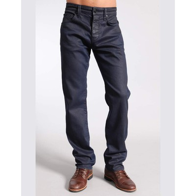 Mavi Jeans JAKE MIDRISE SLIM PREMIUM NAVY COATED