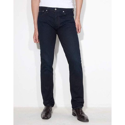 Levi's 511 MIDRISE WITH TONAL STITCH IN NAVY LAGOON RINSE